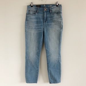 🆕 NWT J. Crew Lookout High Rise Crop Jeans Sz 30
